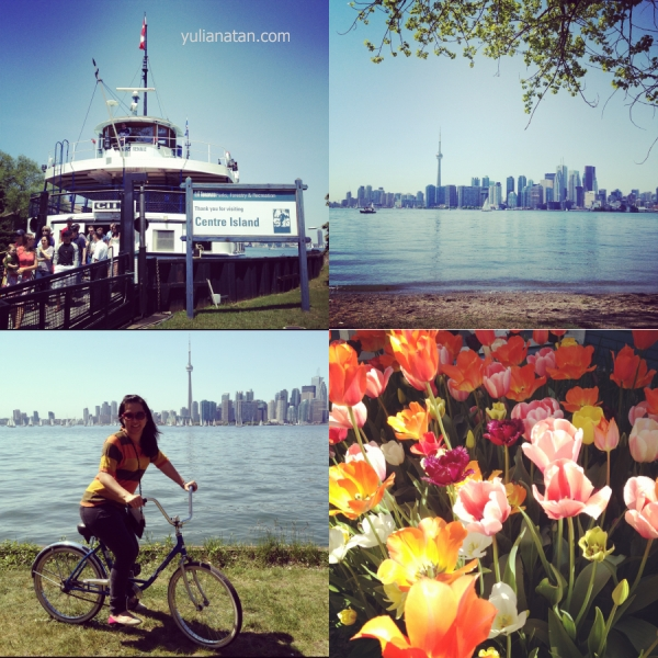 Went to Toronto Island with friends. May 19,2012. Toronto, Canada
