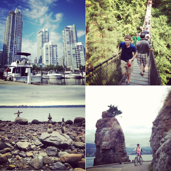 Went to Vancouver. August 17-20,2012. British Columbia, Canada