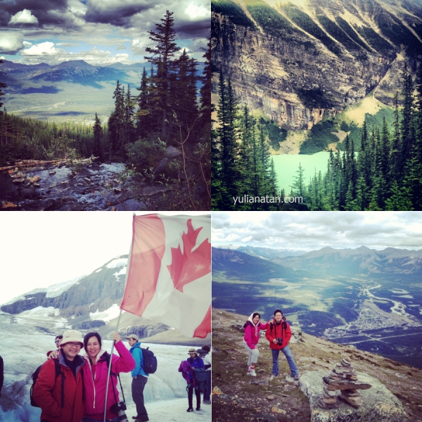 Went to Banff, Yoho & Jasper National Park. August 22-26,2012. Alberta, Canada
